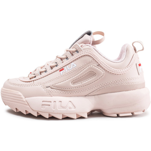 chaussure fila fille rose gold