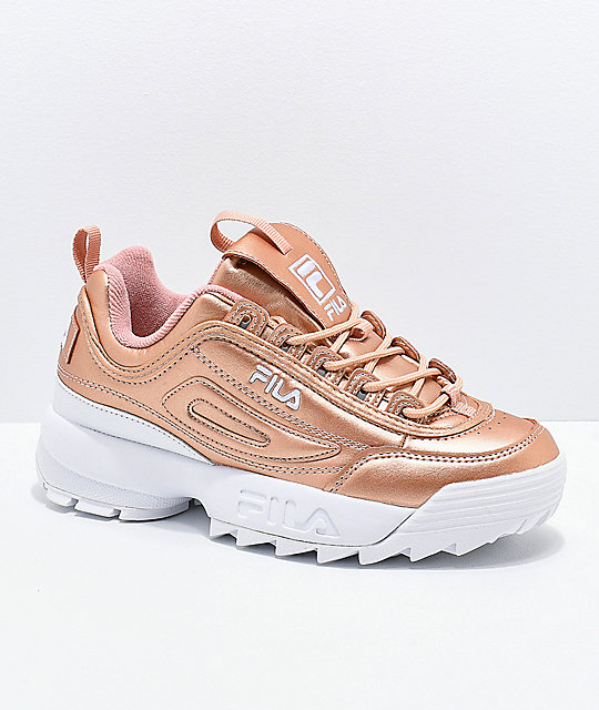 fila rose gold